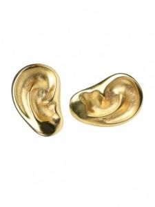 golden-ear-studs
